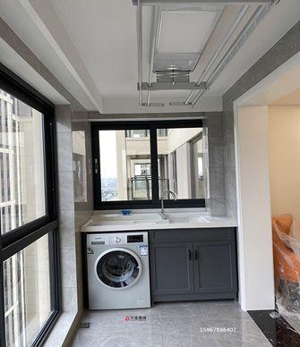 120平米四室两厅轻奢风格阳台效果图