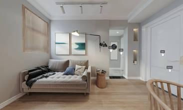 富裕型70平米三室两厅日式风格客厅效果图