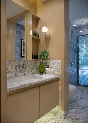 富裕型60平米一室一厅北欧风格卫生间图片