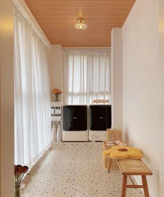 10-15万90平米三室两厅日式风格阳台图