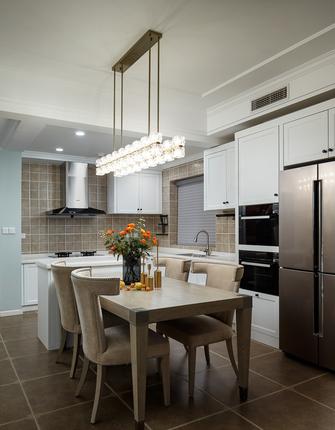 110平米三室一厅欧式风格厨房图片大全