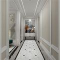 20万以上140平米别墅欧式风格走廊图片大全