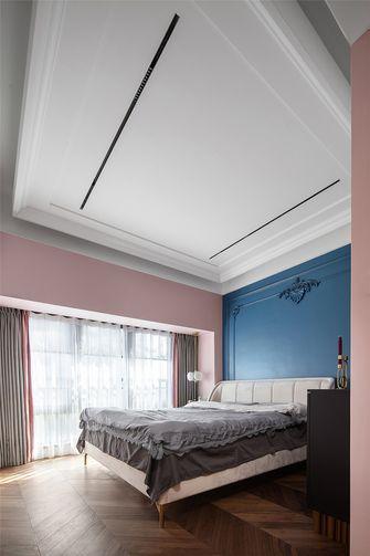 豪华型120平米三室三厅法式风格卧室图