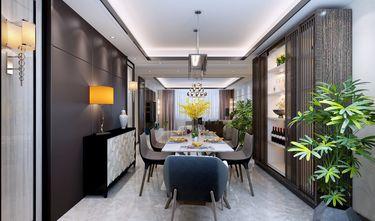 140平米四港式风格餐厅设计图