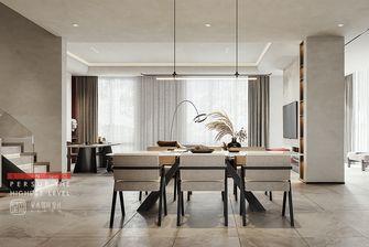 20万以上140平米别墅现代简约风格餐厅图