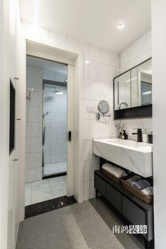 15-20万80平米三室两厅混搭风格卫生间装修图片大全