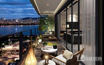 豪华型120平米三室两厅中式风格客厅装修图片大全