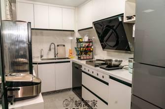 80平米三室两厅日式风格厨房装修效果图