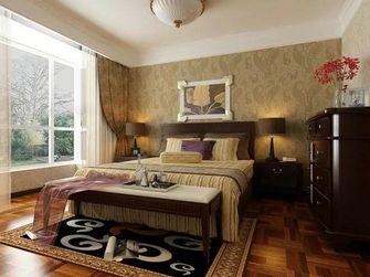 经济型120平米三室两厅东南亚风格卧室图片