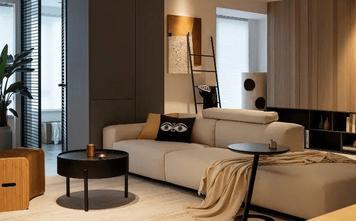 15-20万110平米现代简约风格客厅装修效果图