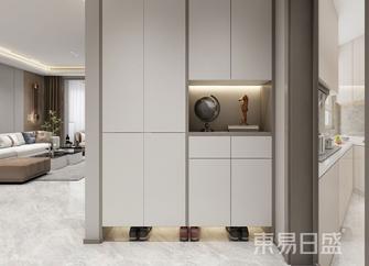 富裕型130平米三室两厅混搭风格玄关效果图