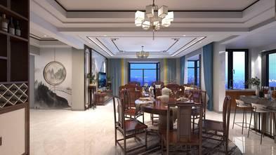 100平米三室两厅中式风格客厅设计图