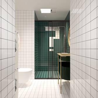 20万以上60平米公寓混搭风格卫生间设计图