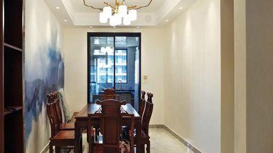 富裕型140平米四室一厅中式风格餐厅装修图片大全