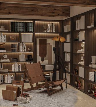 140平米别墅工业风风格书房设计图