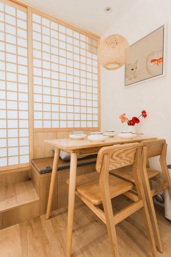 5-10万30平米小户型日式风格餐厅图
