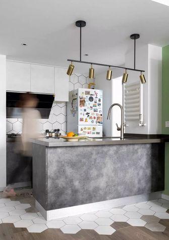 经济型50平米公寓新古典风格厨房欣赏图