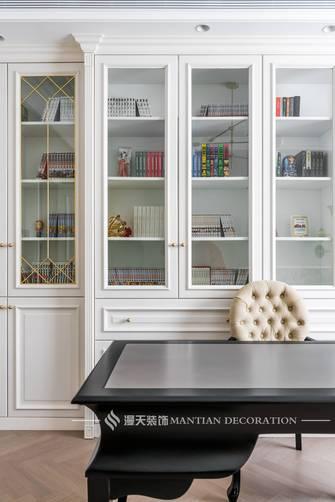 20万以上140平米三室两厅法式风格书房装修效果图