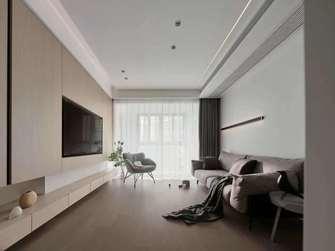 经济型130平米三室两厅现代简约风格客厅效果图