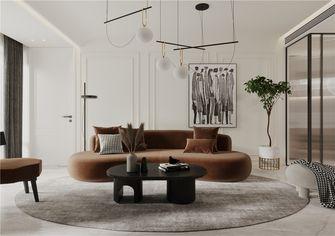豪华型140平米一居室现代简约风格客厅图片大全