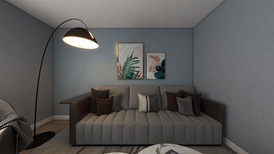 5-10万60平米一居室现代简约风格客厅欣赏图