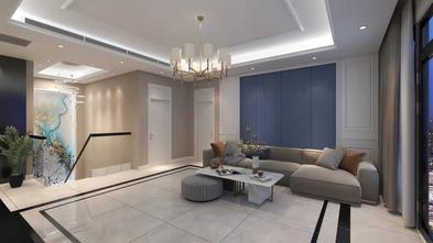 豪华型140平米四室一厅现代简约风格客厅欣赏图