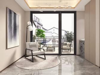 140平米三室三厅中式风格阳台装修案例
