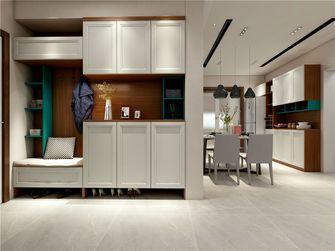 100平米三室两厅美式风格玄关图片大全