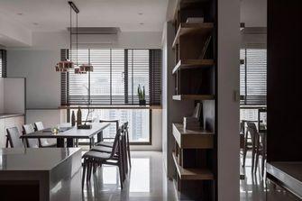 富裕型100平米三室两厅港式风格餐厅装修效果图