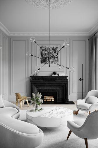 经济型100平米法式风格客厅装修案例
