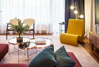 富裕型120平米北欧风格客厅图