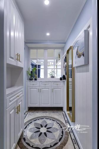 100平米三室一厅美式风格玄关设计图