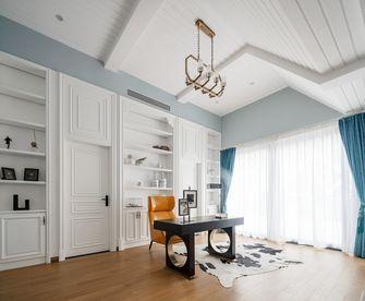 20万以上140平米别墅轻奢风格书房图片