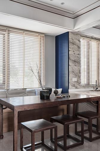 100平米三室两厅中式风格餐厅设计图