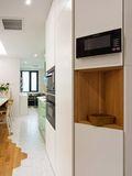 富裕型80平米日式风格厨房装修案例