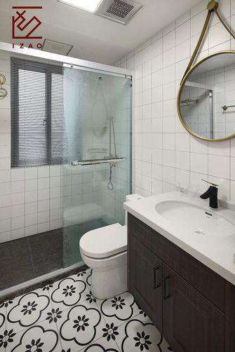 经济型110平米三室两厅现代简约风格卫生间装修图片大全