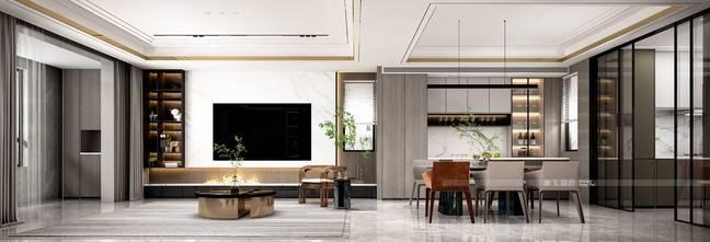 140平米复式现代简约风格其他区域欣赏图
