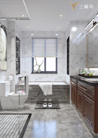 20万以上140平米别墅中式风格卫生间设计图