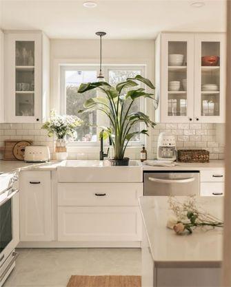 5-10万80平米法式风格厨房设计图