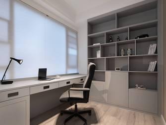 经济型130平米四室两厅混搭风格书房装修案例