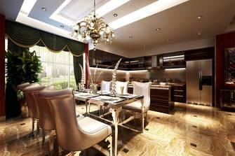 140平米欧式风格餐厅图片