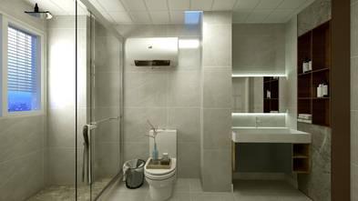 100平米三室两厅中式风格卫生间图片大全