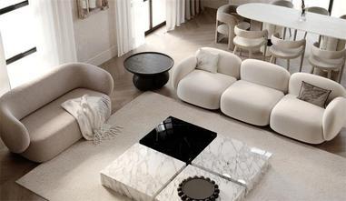 经济型90平米一居室法式风格客厅设计图