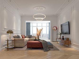 100平米法式风格客厅装修案例