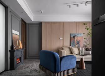 经济型110平米三室一厅美式风格客厅装修效果图