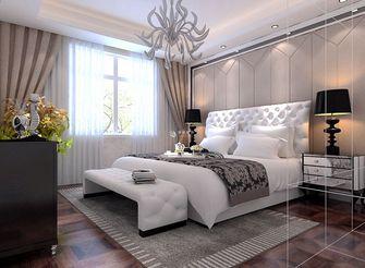 3-5万90平米混搭风格卧室图