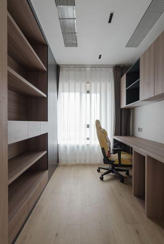 富裕型140平米四室两厅日式风格书房装修案例