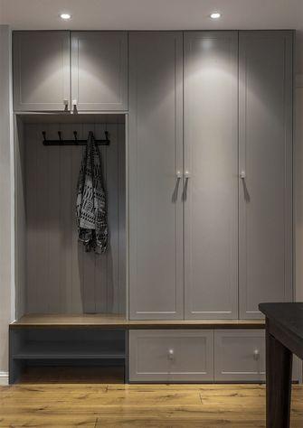 富裕型140平米三室两厅美式风格玄关图片大全