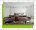 豪华型130平米三室两厅法式风格卧室图片