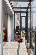 豪华型140平米复式美式风格阳台设计图